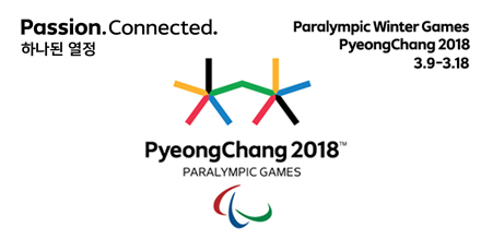 passion.connected. 하나된 열정 paralympic winter games pyeongchang 2018 3.9-3.18
